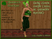 <SB> Lucky Clover Outfit (2020, St. Patrick's)