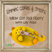 Yellow Cat Pool Floaty