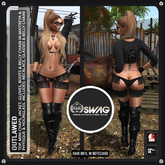 [RnR] Swag Outlawed Biker & Country Mini Chaps Outfit includes: Maitreya, Physique & Hourglass!