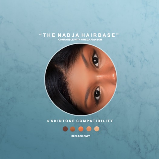"""Babe """"Nadja"""" Hairbase - Right Part for BOM/Omega"""