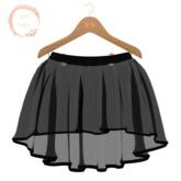 NaaNaa's Gaby Skirt Maitreya Black [Wear Me]