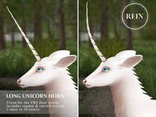REIN - TWI Deer Long Unicorn Horn