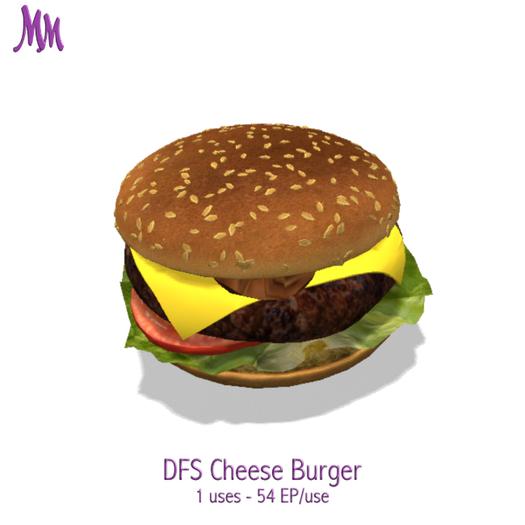 DFS Cheese Burger