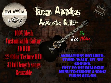 Joey Apples Acoustic Guitar