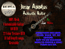 Joey Apples Acoustic Guitar
