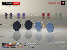 A&D Clothing - Glasses -Lennon-  FatPack