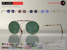 A&D Clothing - Glasses -Charleston-  Deluxe
