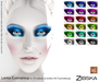 Zibska ~ Lenka Eyemakeup in 18 colors for Lelutka HD