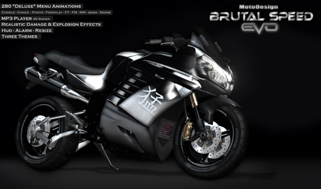 MotoDesign - BRUTAL SPEED - EVO
