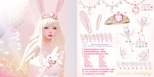 +Half-Deer+ Princess Twinklefluff - Bunny Ears - Topaz
