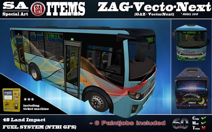 SA-I ●ZAG-VectorNext●