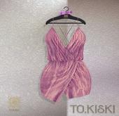 TO.KISKI - Aria cocktail dress / PINK POWDER (Add)