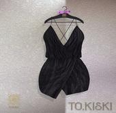 TO.KISKI - Aria cocktail dress / Black (Add)