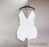 TO.KISKI - Aria cocktail dress / White (Add)