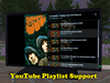 Playlist support