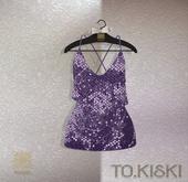 TO.KISKI - Glitter Sweet dress / Violet (Add)