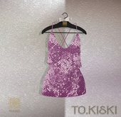 TO.KISKI - Glitter Sweet dress / Pink 2 (Add)