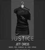 [JUSTICE] JETT DRESS - EBONY