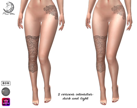 *Moon Tattoo* Andrea