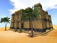 Babylonian Palace - Babylon - Mesopotamia
