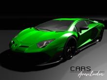 CARS Aventador [green] v1.0.0