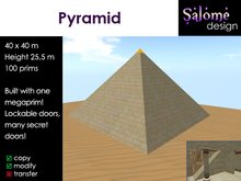 Great Pyramid - perfect for role play or residential living