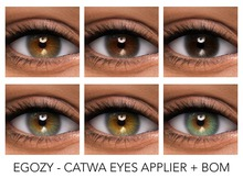 Egozy.Caliente Eyes (Catwa Applier) & BOM