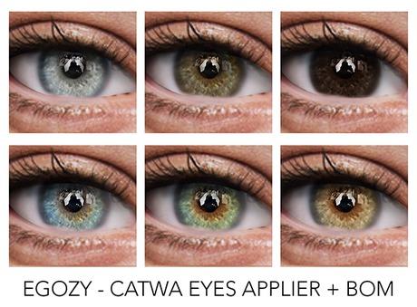 Egozy.Tentation Eyes (Catwa Applier) & BOM