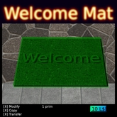 Welcome Mat boxed
