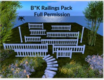 Railings Pack 2 Fancy