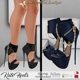 DPB Kate Heels - Navy *Maitreya*Slink*Belleza*