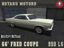 HOTARU MOTORS - 66 Fred Coupe - [BOX]
