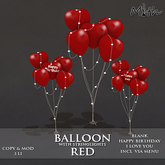 Myth -  Balloons Red