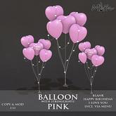 Myth - Balloons Pink