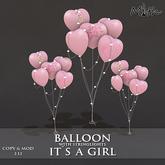 Myth - Balloons Its a Girl