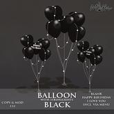 Myth -  Balloons Black