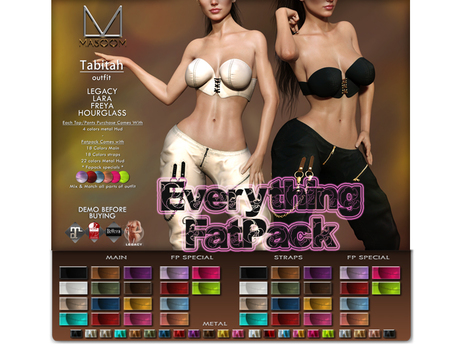 [[ Masoom ]] Tabitah Outfit EVERYTHING FATPACK - Legacy, Lara, Hourglass & Freya