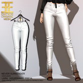 Entice - Never Surrender Pants - White