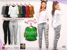 ASO! Sweat Pants (fullpack) - Slink / Maitreya / Belleza / Legacy