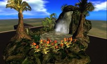 Tropical Waterfall!