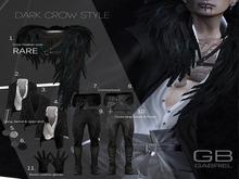 9.::GB::Cross strap boots & Pants (Black) TMP