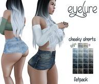 DEMO Eyelure Hi Waisted Cheeky Shorts - w/ Fatpack HUD