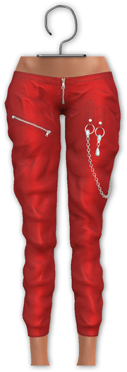 [[ Masoom ]] Tabitah Pants- Red-  Legacy, Lara, Hourglass & Freya
