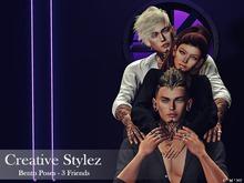 Creative Stylez - Bento Poses - 3 Friends  -