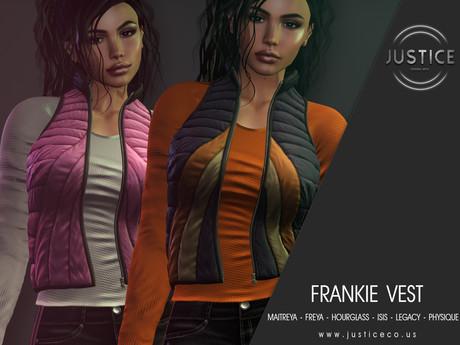 [JUSTICE] FRANKIE VEST - FATPACK