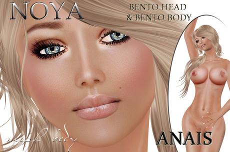 **NOYA** ANAIS [-70% PROMO] BENTO Mesh Complete Avatar & Maitreya applier