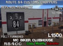 .:OCC:. Biker MC Clubhouse Boxed