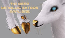 Snode - TWI Deer Metallic Hooves & Extras