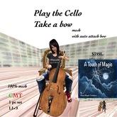 Play the Cello take a bow-box