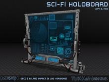 [ToKKen Industries] Sci-Fi Holoboard - Mesh